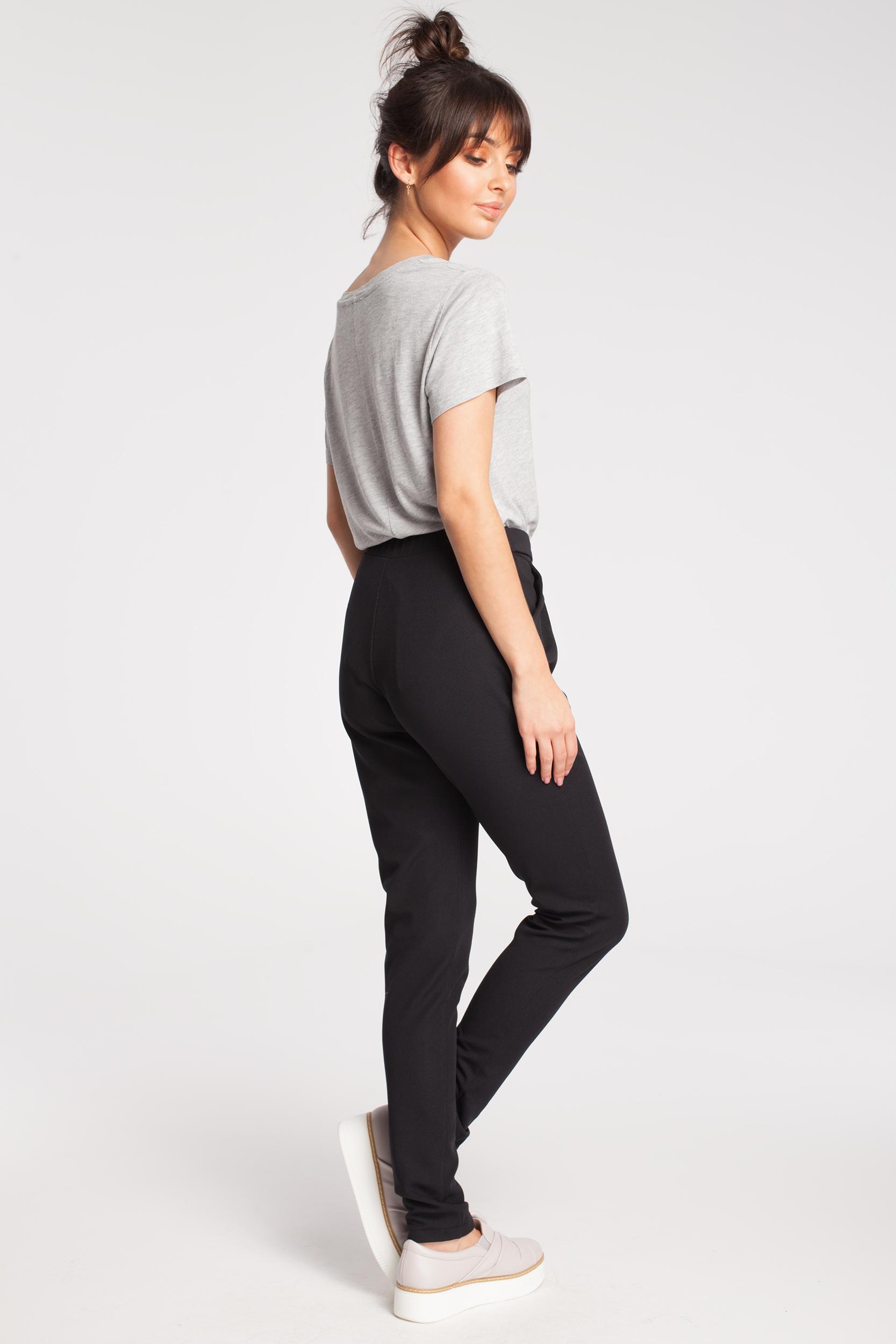CM2790 Damskie spodnie chinosy - czarne