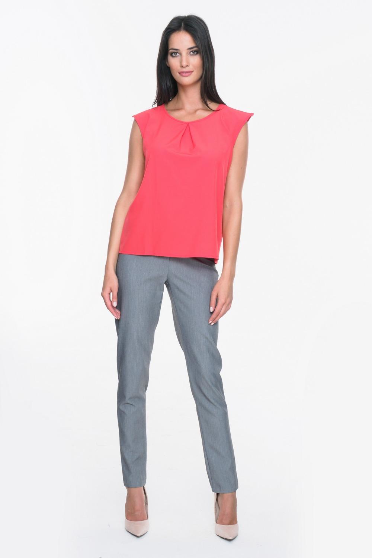 CM3718 Eleganckie spodnie materiałowe - szare