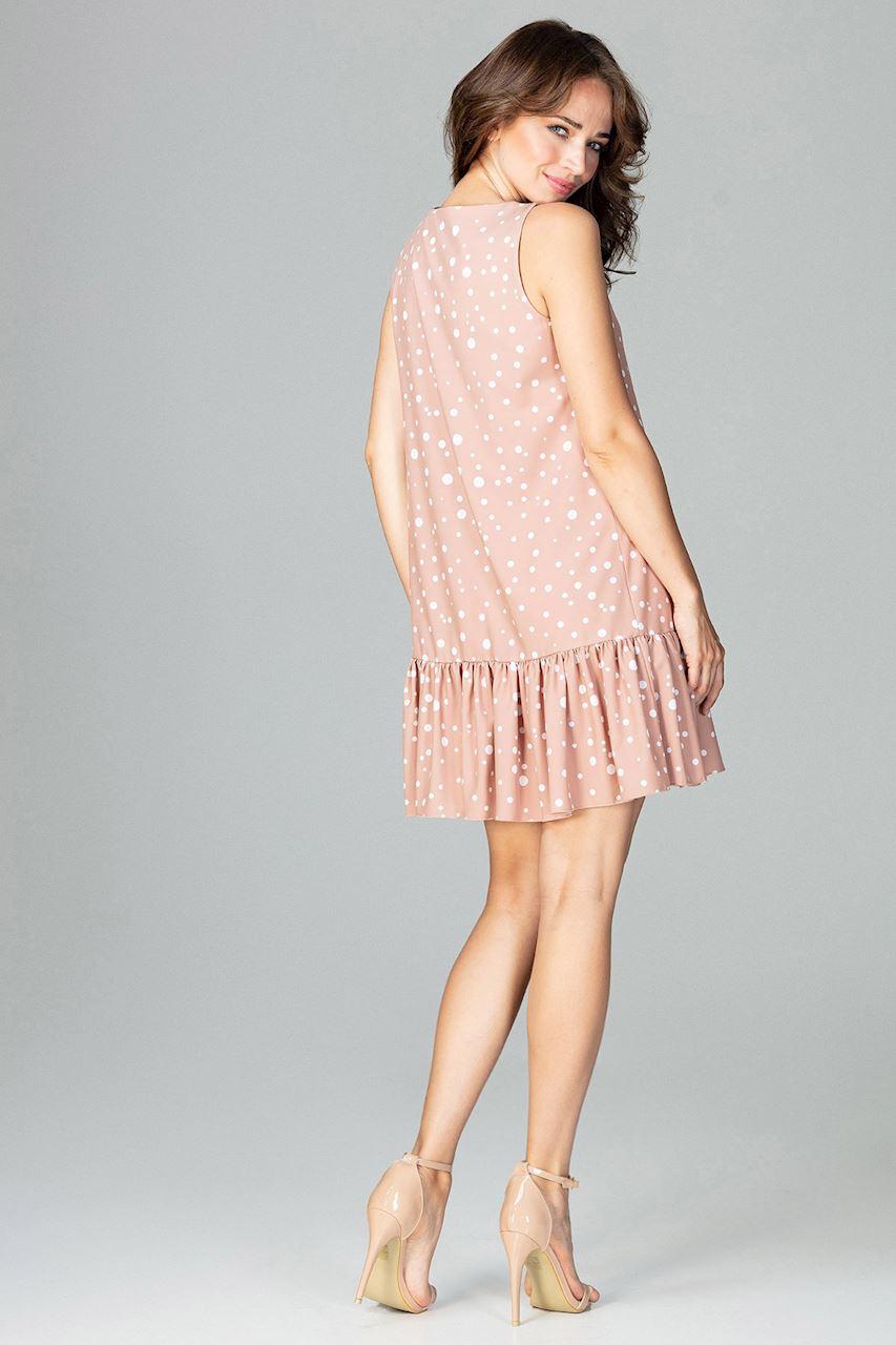 CM3784 Zwiewna sukienka z falbanką - wzór 95