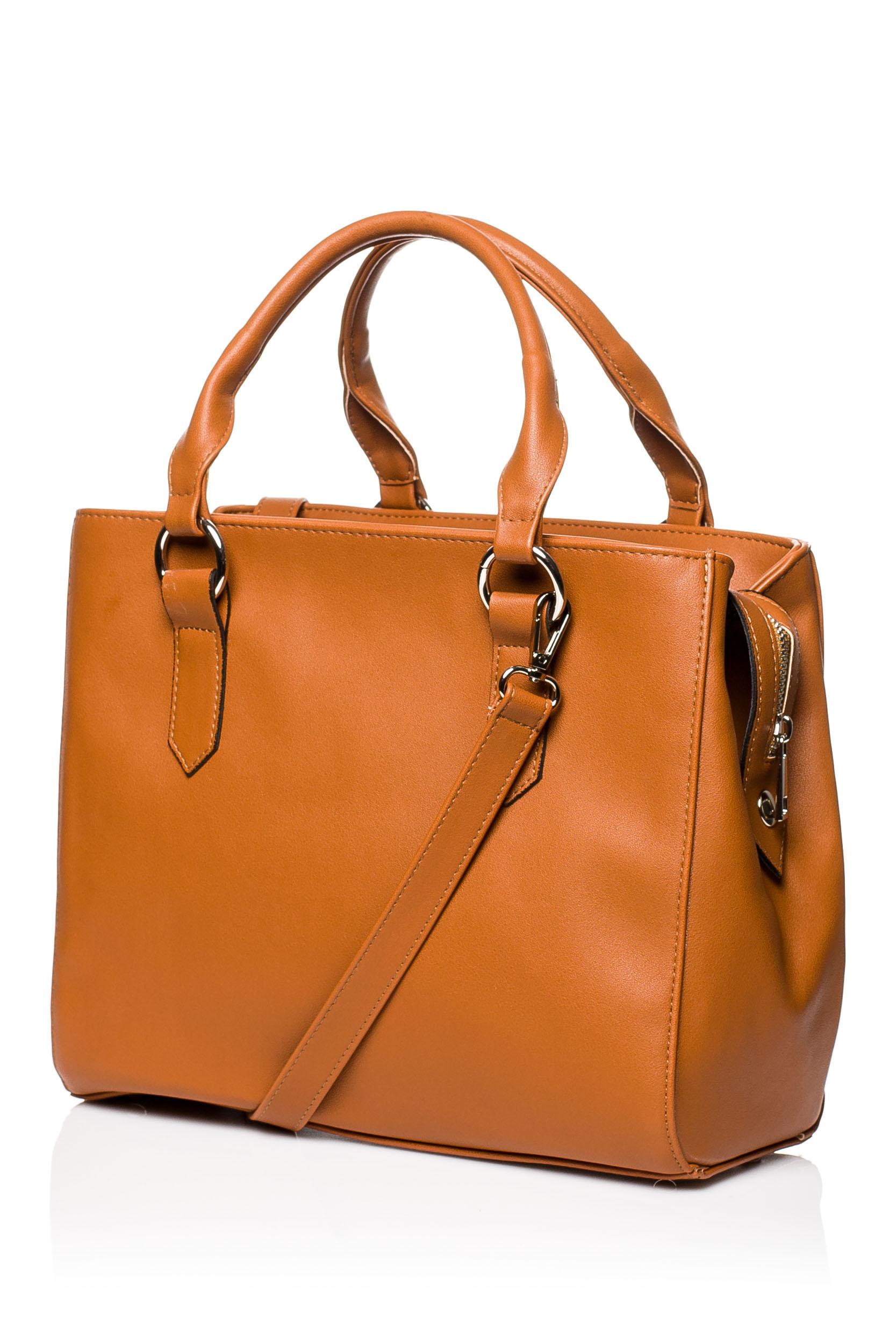 CM3576 Biurowa torebka na ramię - ruda