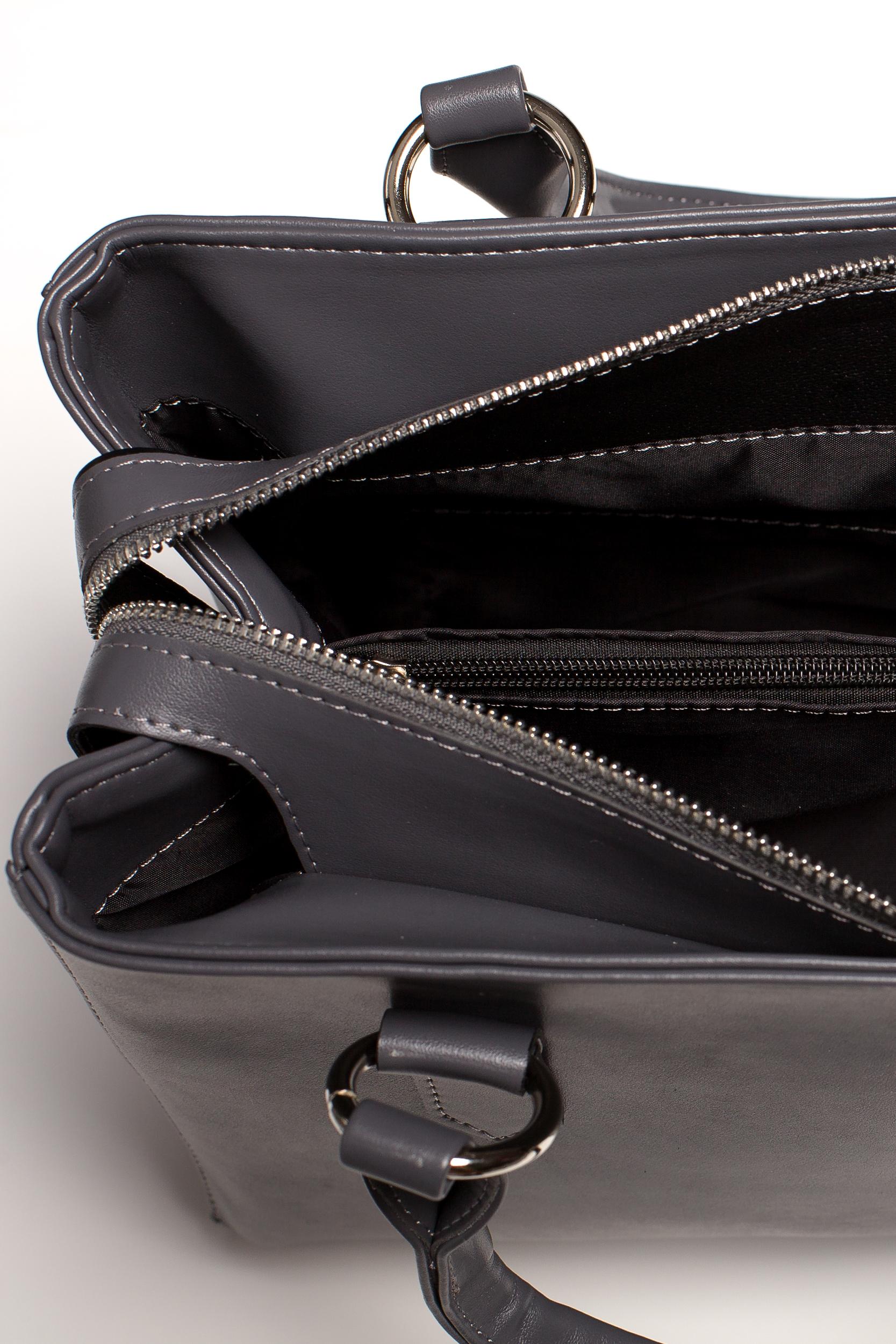 CM3576 Biurowa torebka na ramię - grafitowa