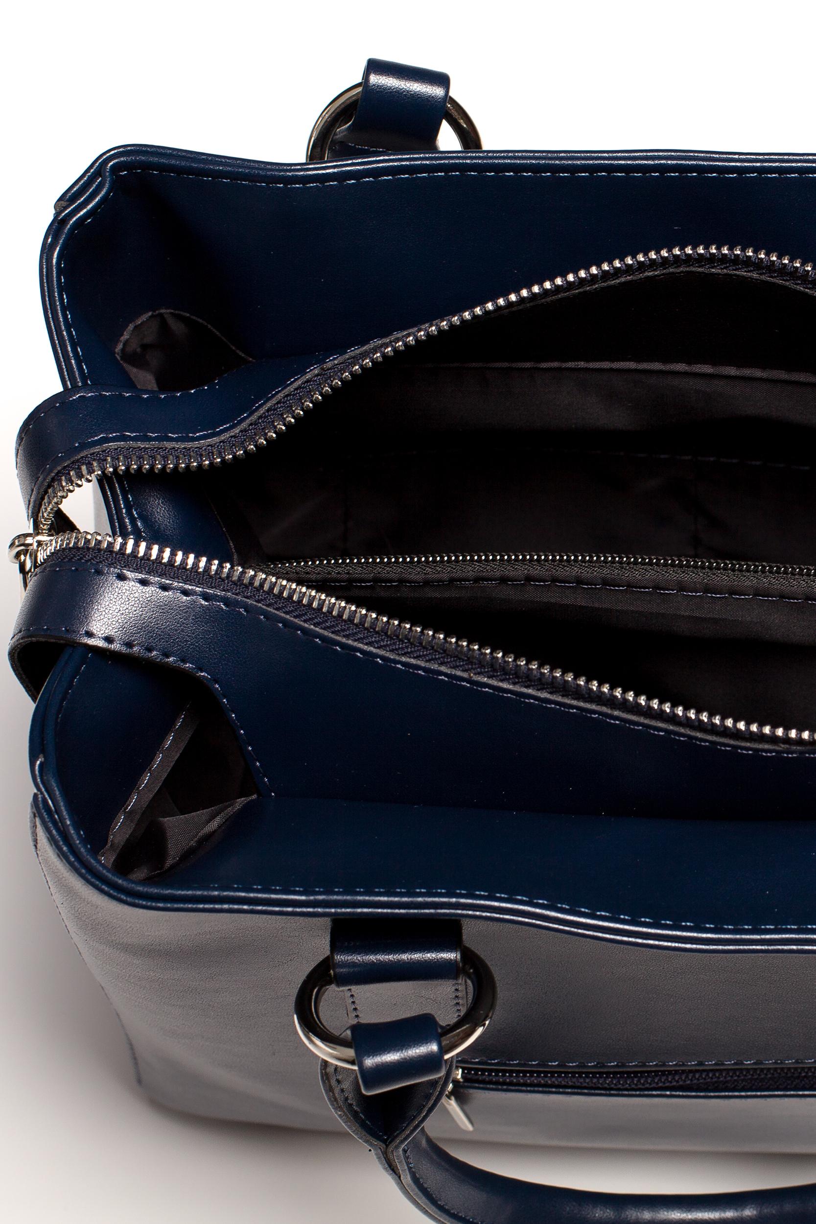 CM3576 Biurowa torebka na ramię - granatowa
