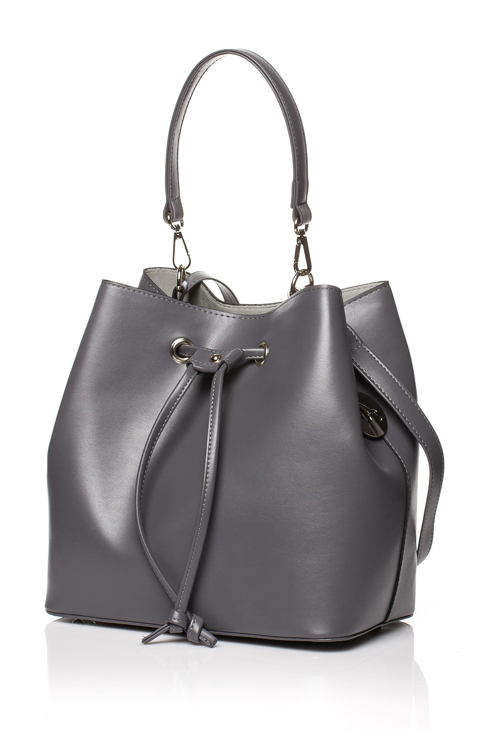 CM3832 Biurowa torba na ramię i do ręki - grafitowa