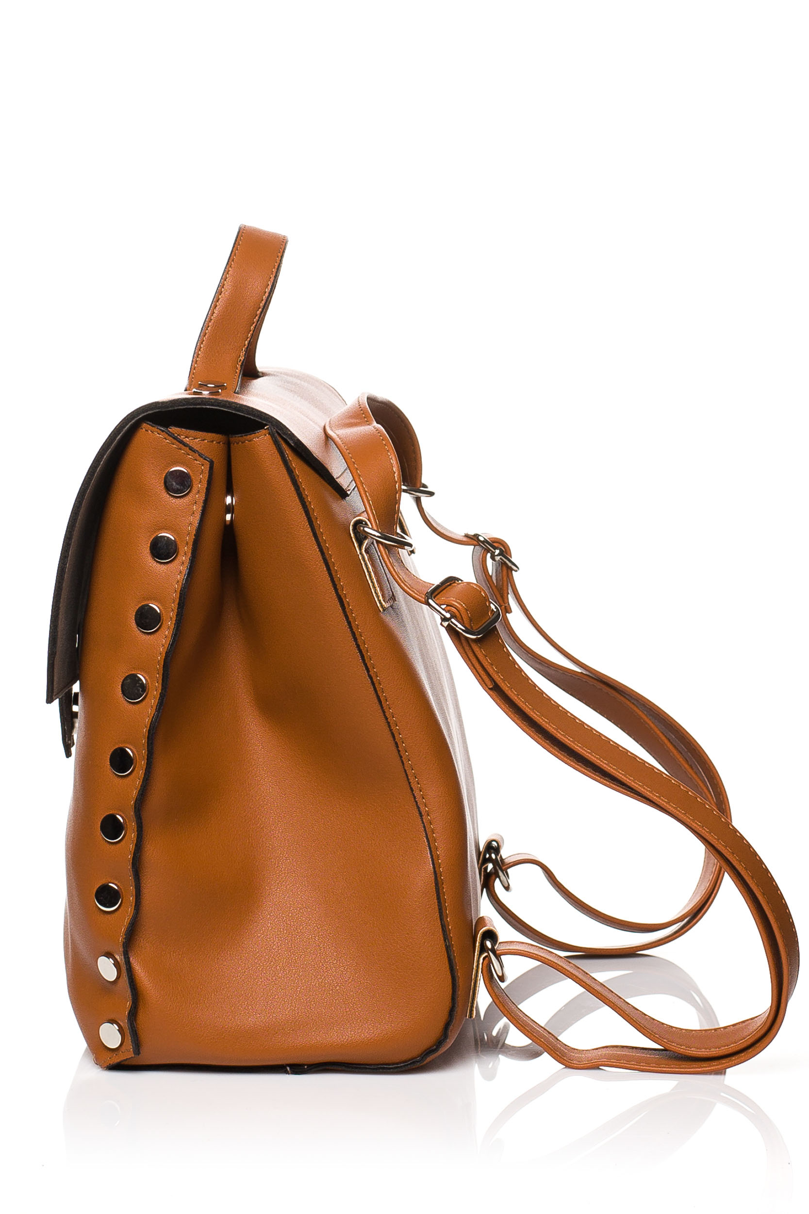 CM3831 Mała elegancka torebka - ruda