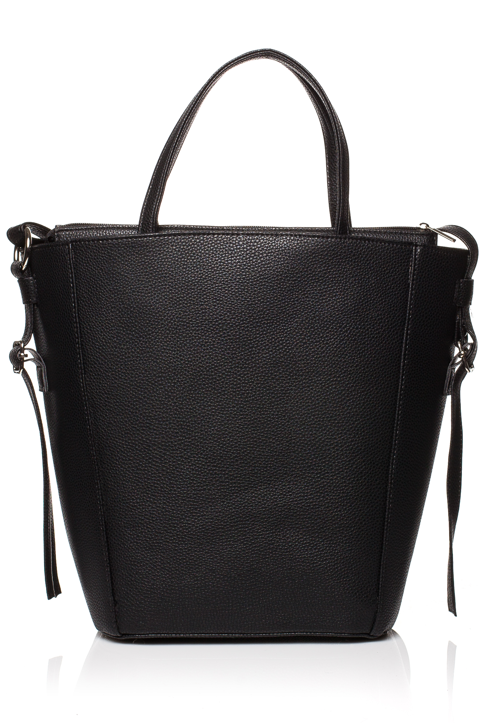 CM3830 Klasyczna torebka na ramię - czarna