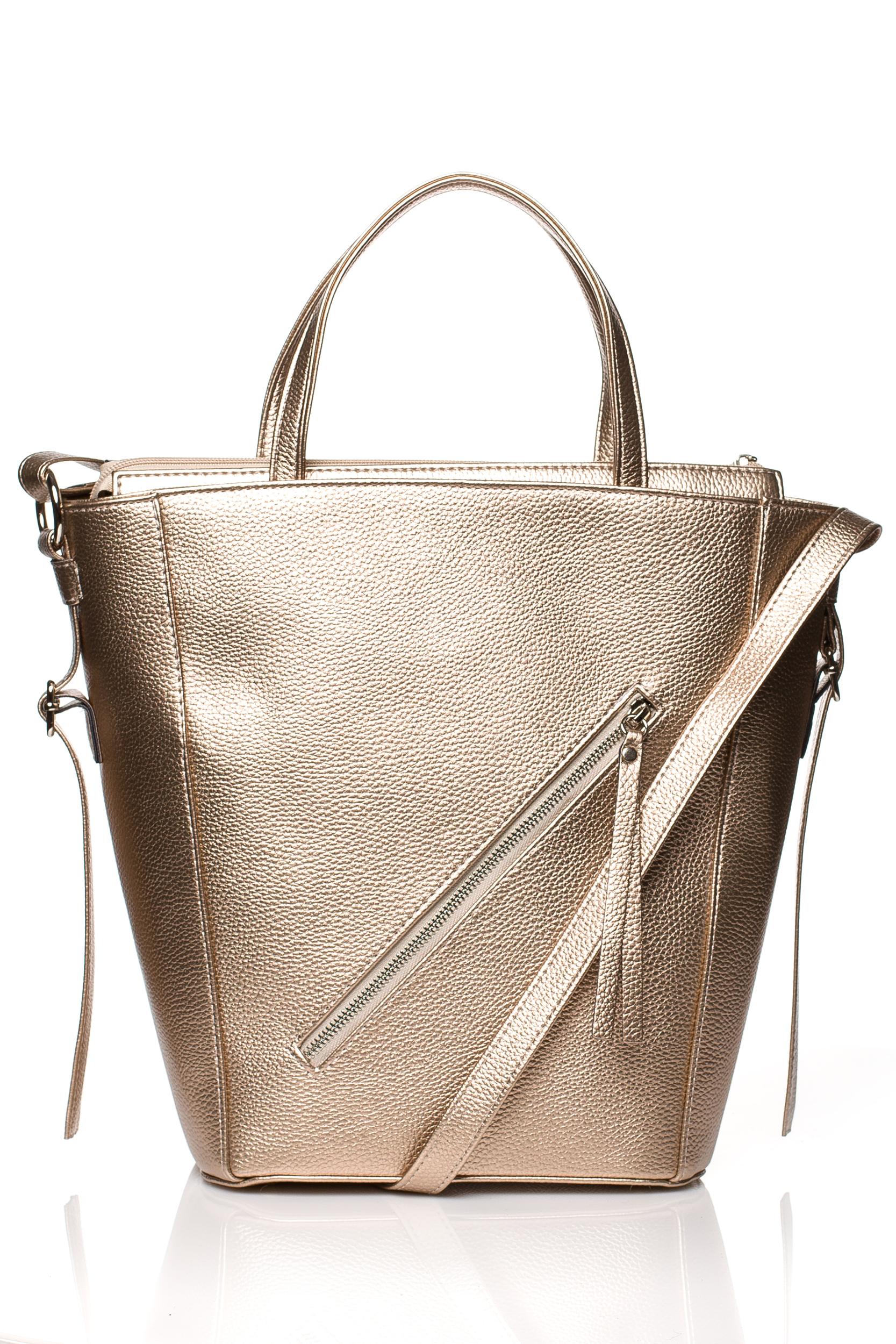 CM3830 Klasyczna torebka na ramię - miedziana