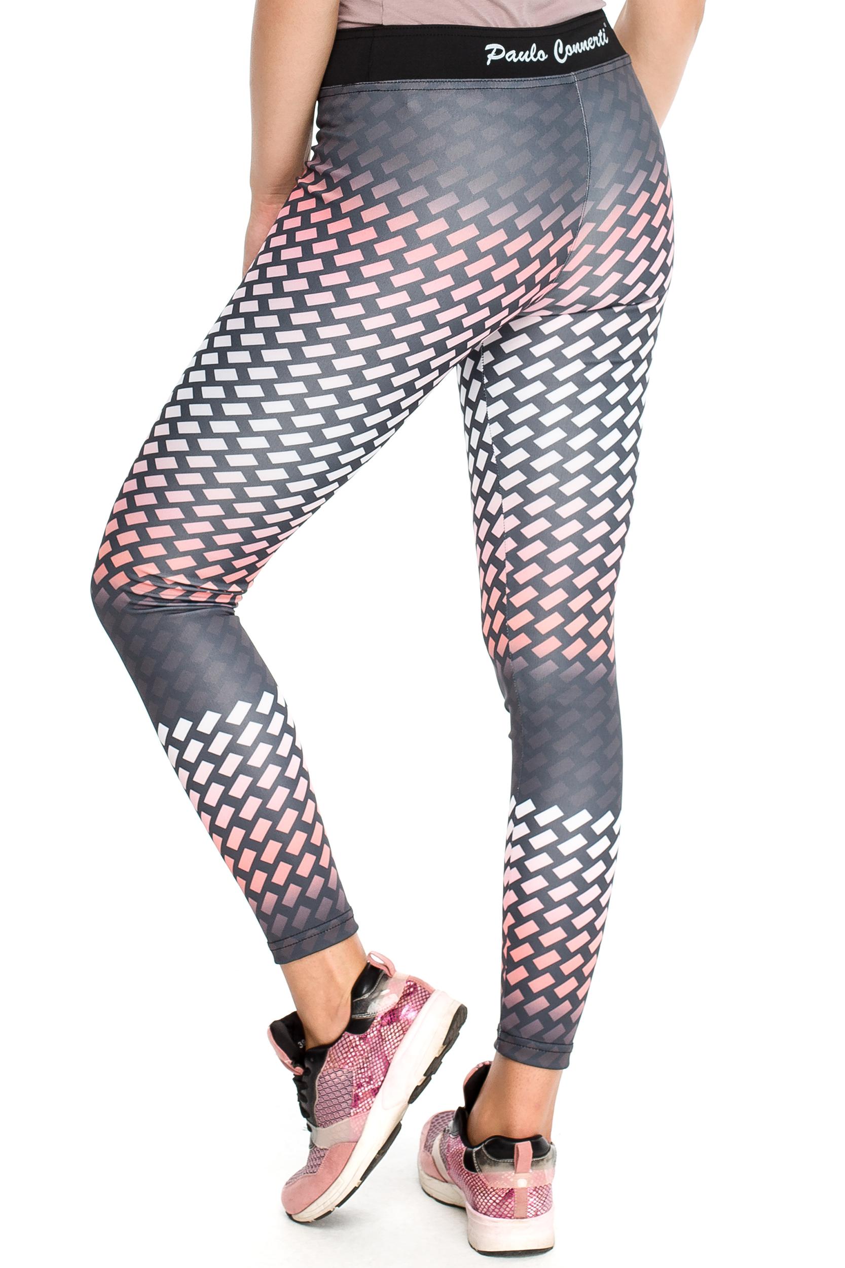 CM3904 Modne elastyczne legginsy na fitness
