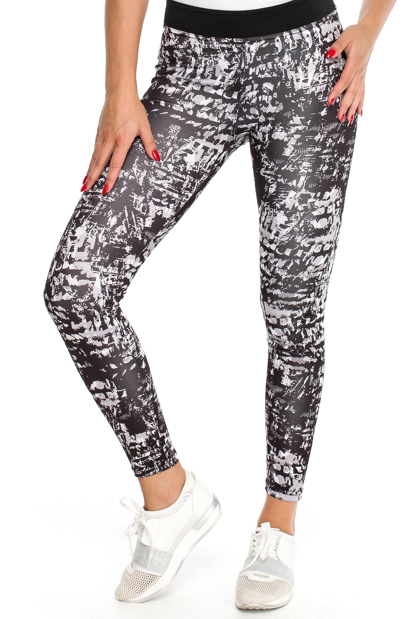 CM3906 Elastyczne sportowe legginsy na fitness