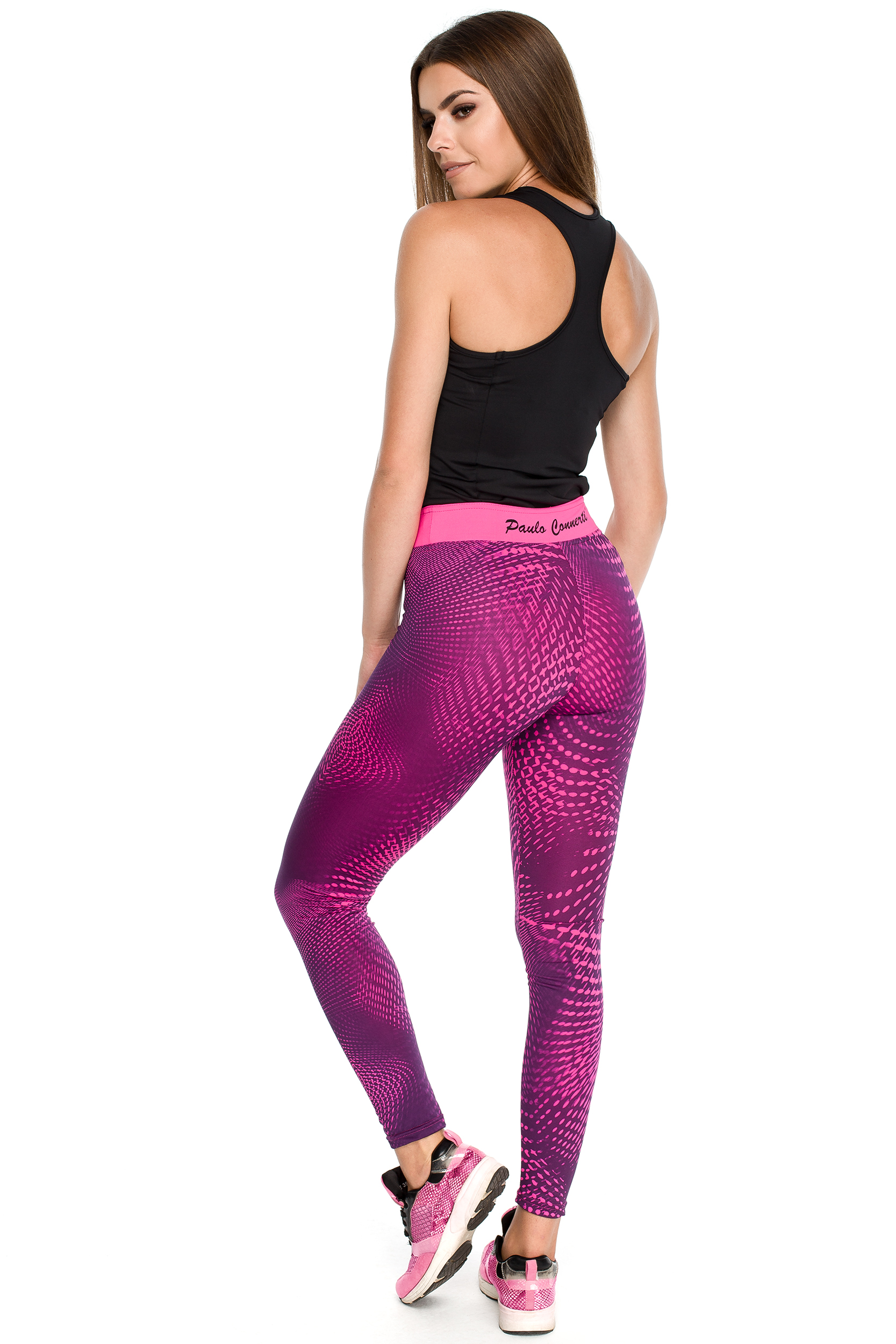 CM3915 Stylowe nowoczesne legginsy sportowe