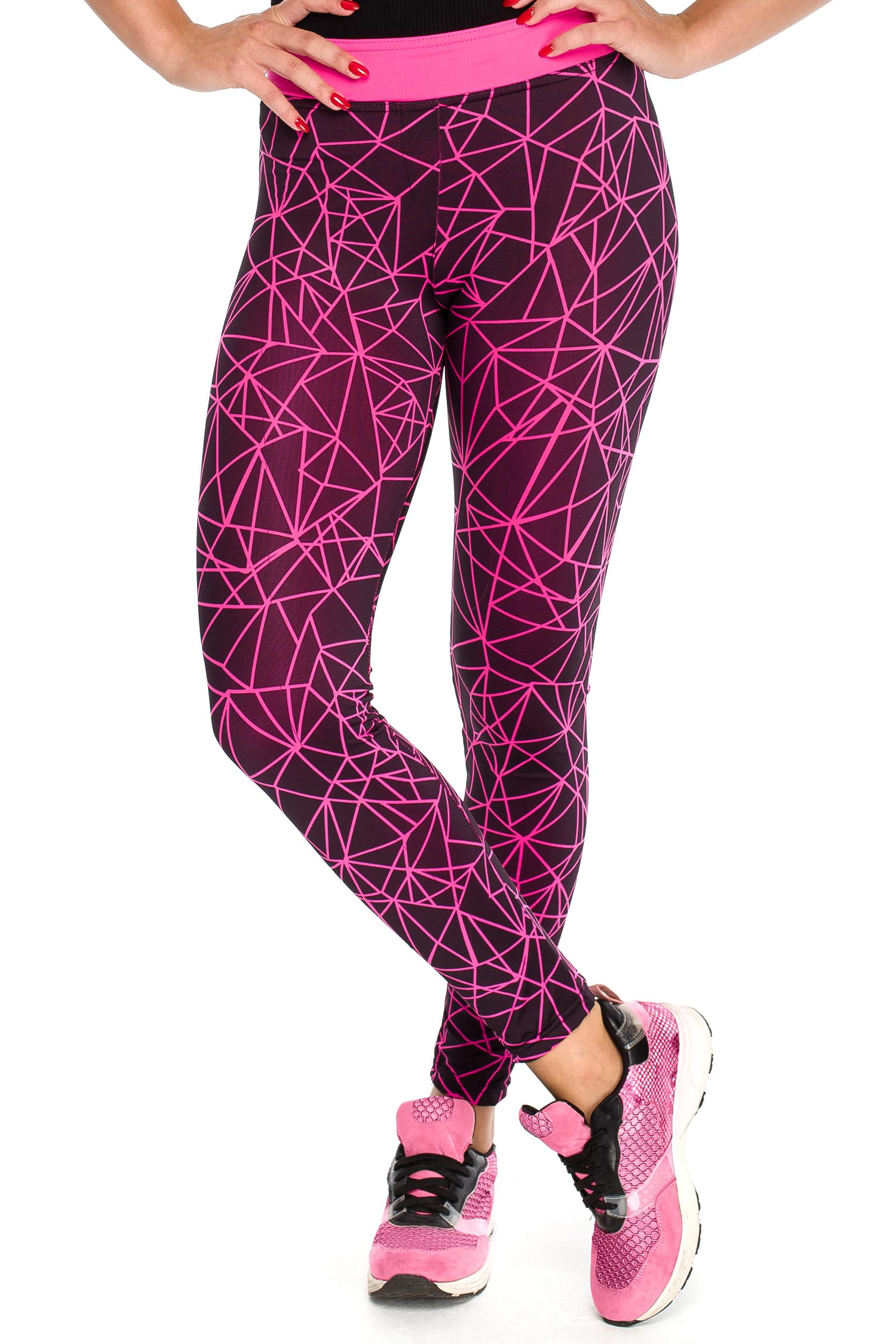 CM3918 Sportowe legginsy elastyczne