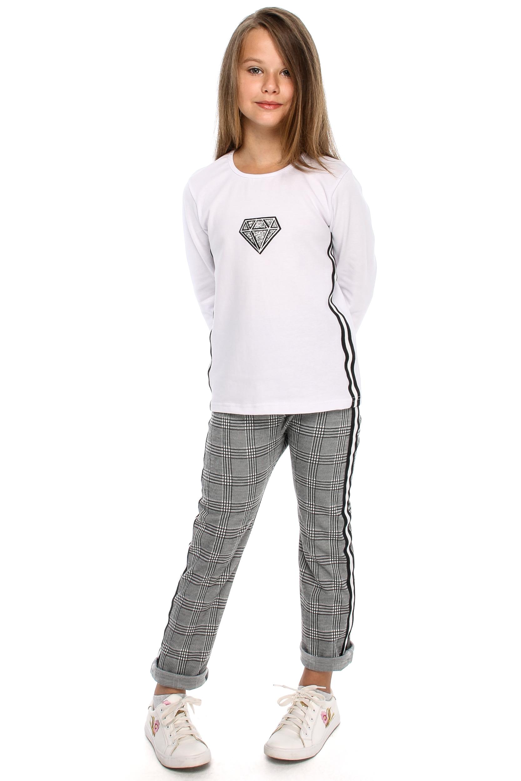 MA109 Dziewczęca bluzeczka z lampasami