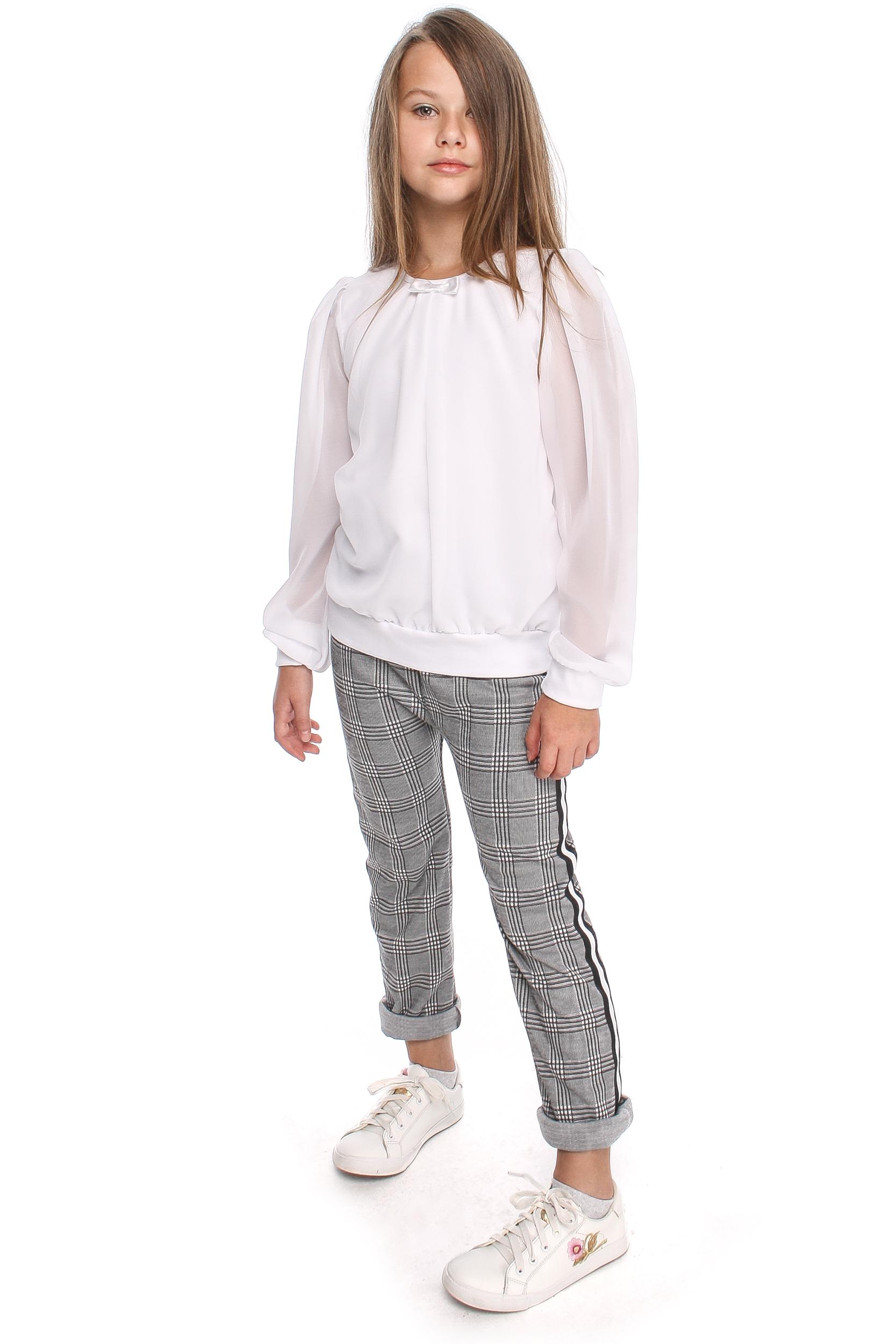 MA114 Bluzeczka z szyfonowym rękawem