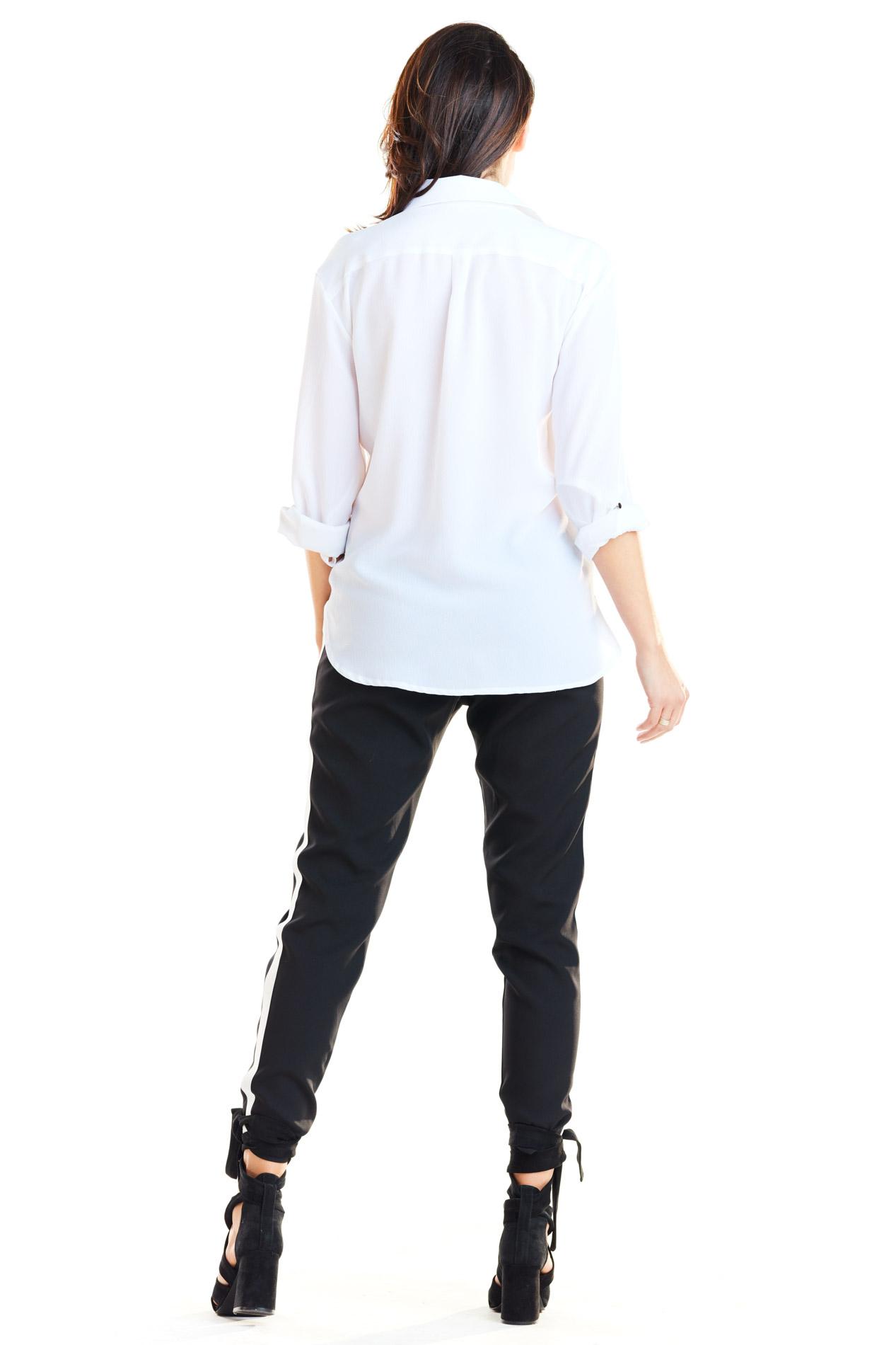 CM4181 Casualowe spodnie na co dzień - czarne