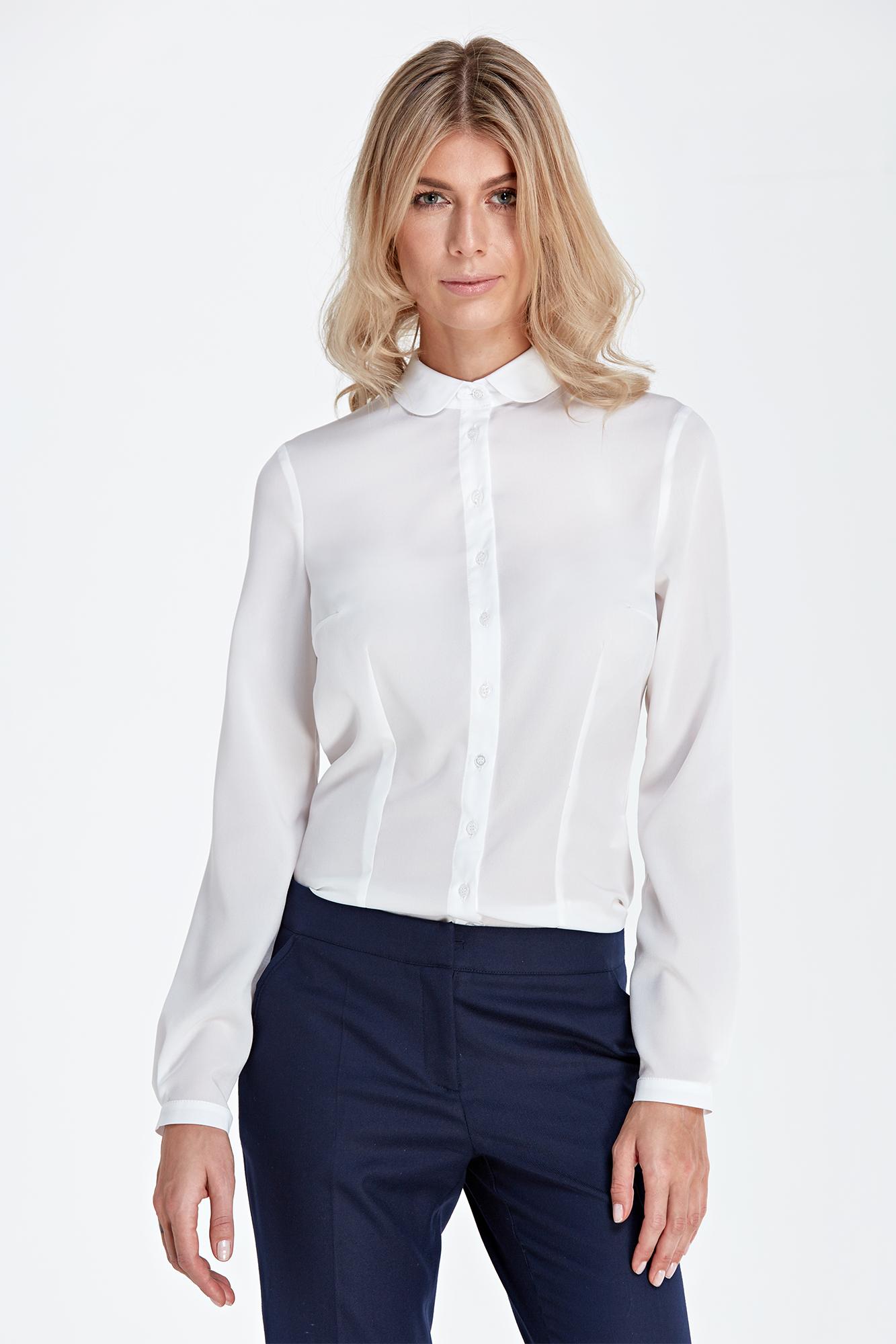 CM4531 Koszula z długim rękawem - ecru