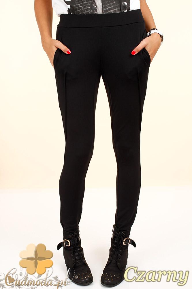 CM0322  Legginsy spodnie dresowe - czarne