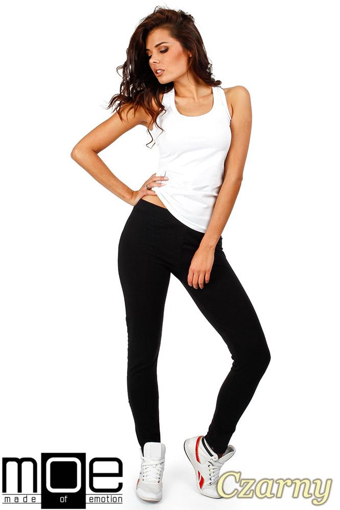 CM0358 Dresowe spodnie damskie - czarne