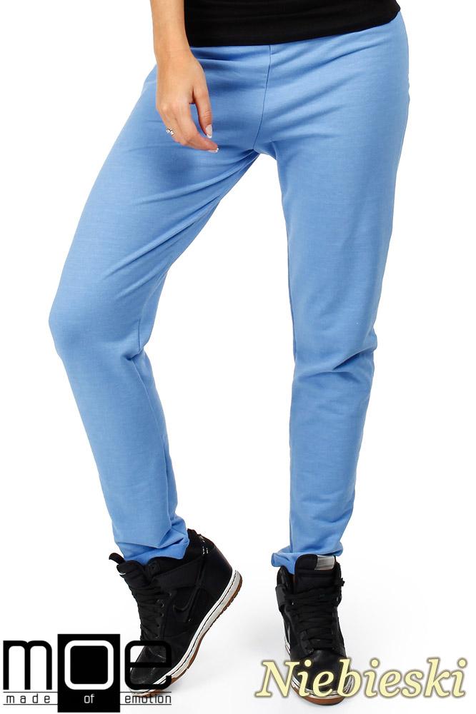 CM0358 Dresowe spodnie damskie - niebieskie