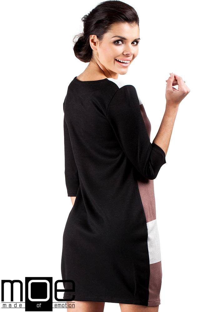 CM0334 Modna sukienka tunika wieża Eiffla