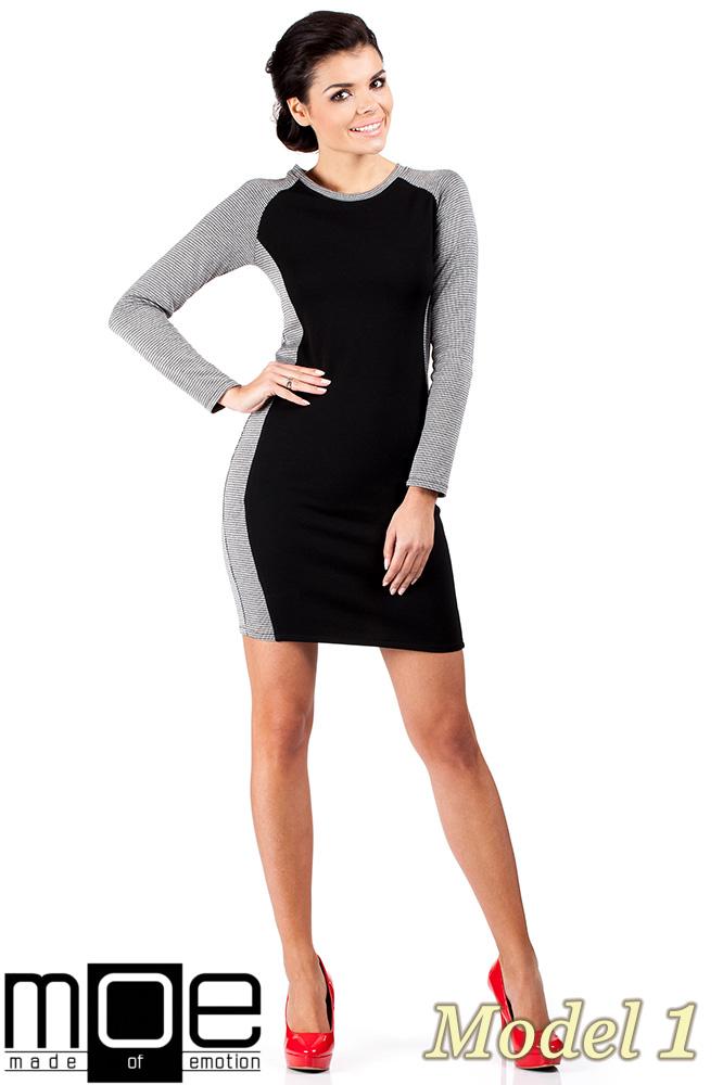 CM0329 Klasyczna sukienka mini - pepito model 1
