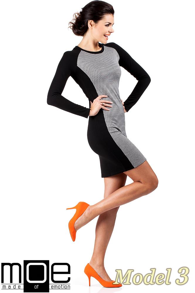 CM0329 Klasyczna sukienka mini - pepito model 3