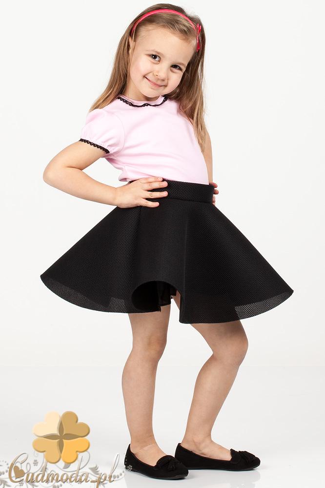 MA050 Dziewczęca spódniczka balerinka - czarna